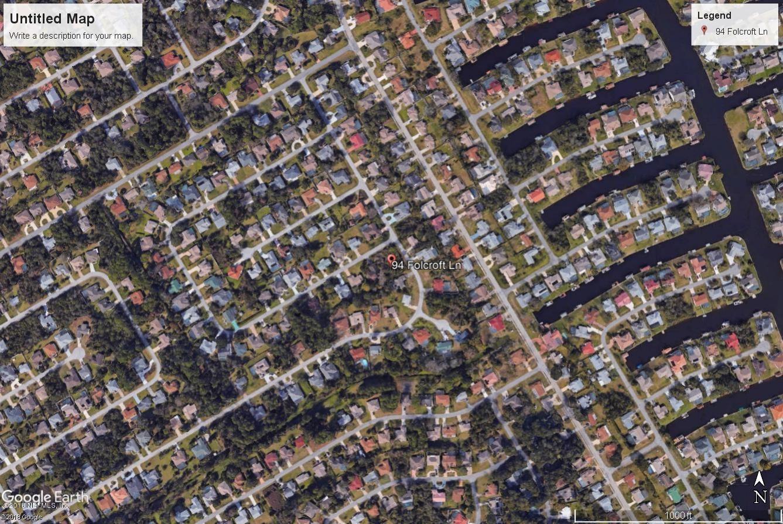 94 FOLCROFT, PALM COAST, FLORIDA 32137, ,Vacant land,For sale,FOLCROFT,943729