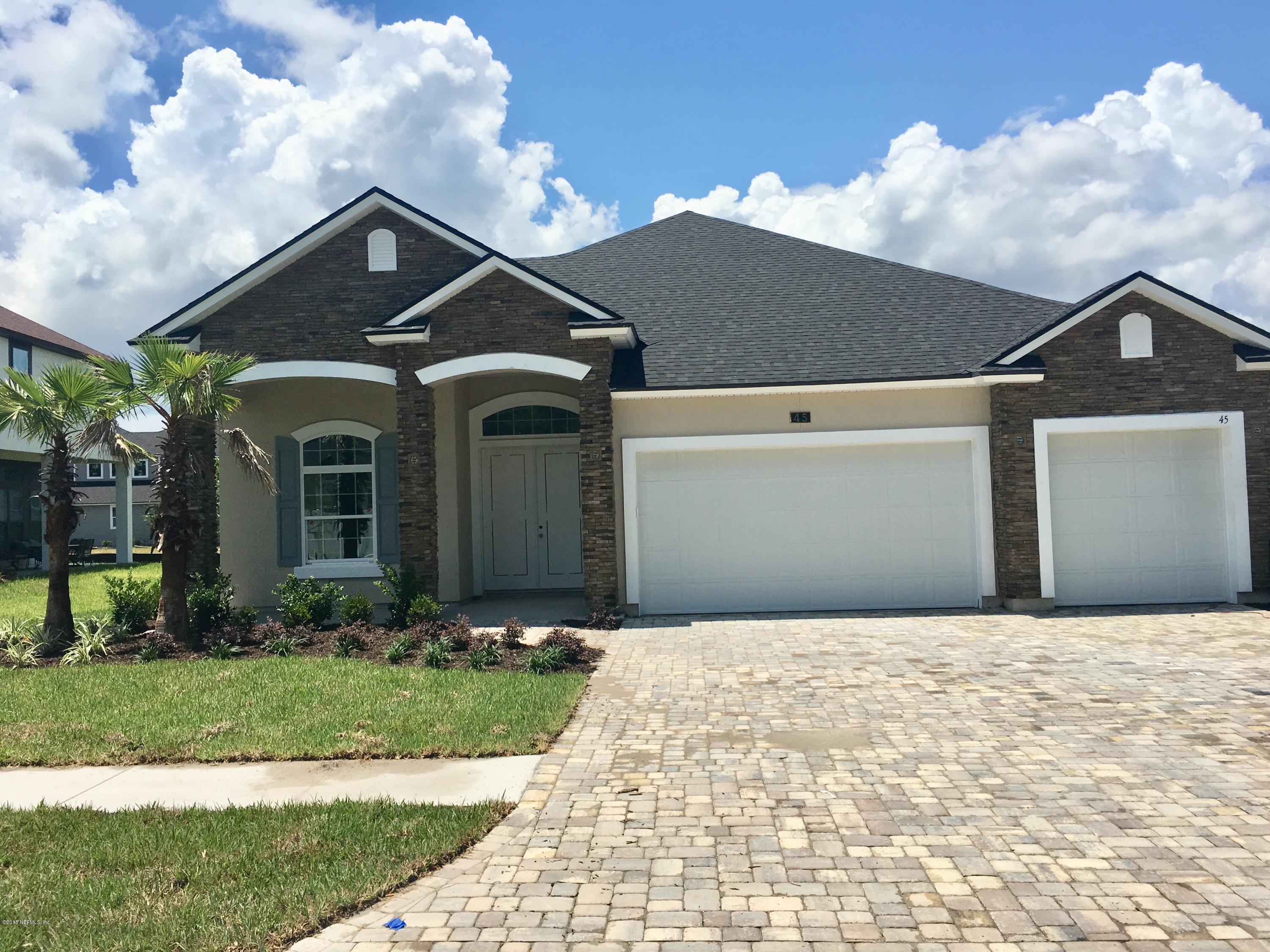 45 HUGUENOT, ST JOHNS, FLORIDA 32259, 4 Bedrooms Bedrooms, ,3 BathroomsBathrooms,Residential - single family,For sale,HUGUENOT,920953