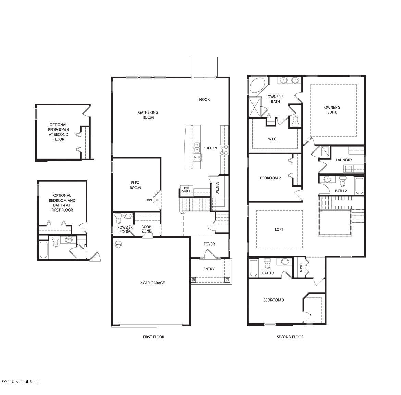 8128 DANCING FOX, JACKSONVILLE, FLORIDA 32222, 4 Bedrooms Bedrooms, ,3 BathroomsBathrooms,Residential - single family,For sale,DANCING FOX,945576
