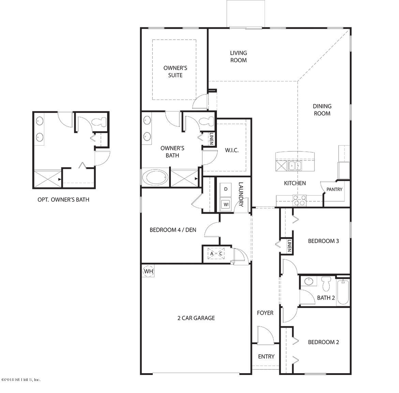318 NORTHSIDE, JACKSONVILLE, FLORIDA 32218, 4 Bedrooms Bedrooms, ,2 BathroomsBathrooms,Residential - single family,For sale,NORTHSIDE,946208