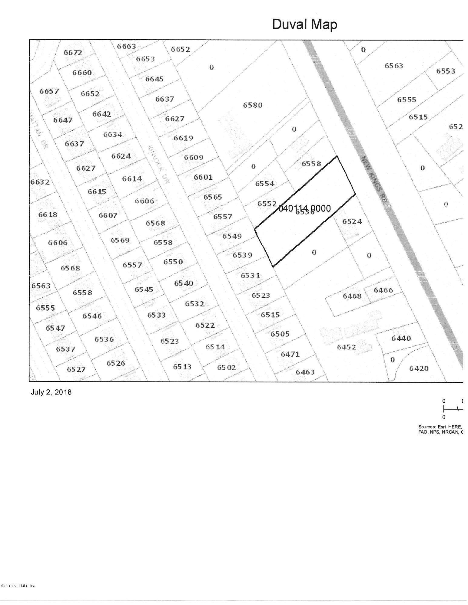 6536 NEW KINGS- JACKSONVILLE- FLORIDA 32219, ,Vacant land,For sale,NEW KINGS,887222