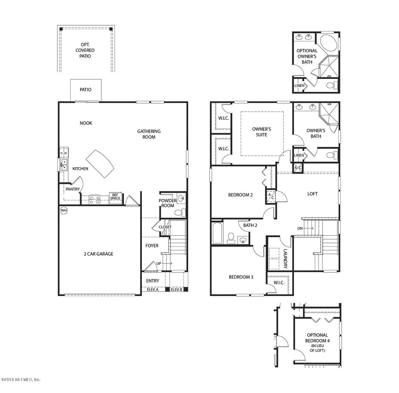 3899 COASTAL COVE, JACKSONVILLE, FLORIDA 32224, 3 Bedrooms Bedrooms, ,2 BathroomsBathrooms,Residential - single family,For sale,COASTAL COVE,946254