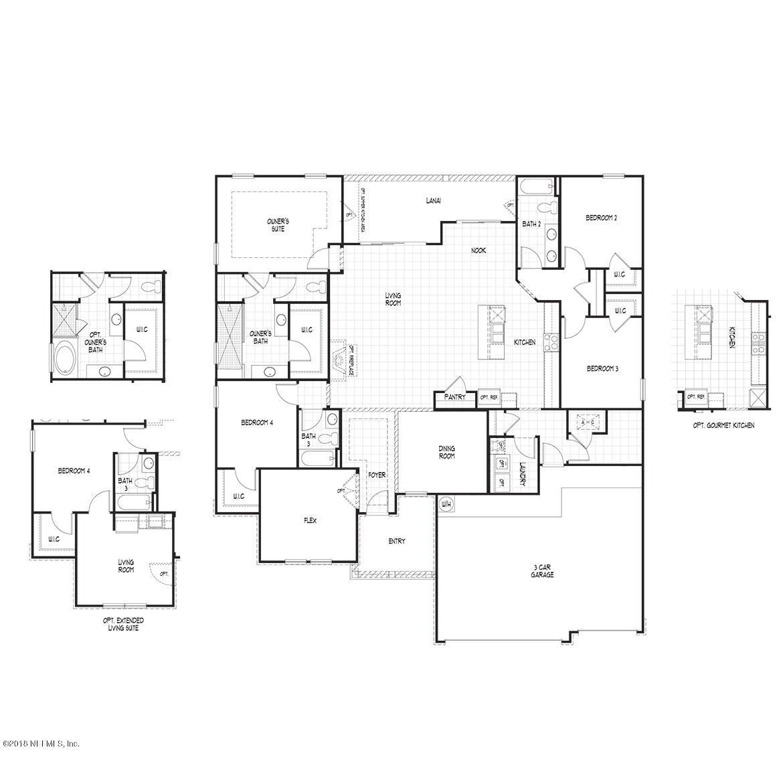 96318 GRANDE OAKS, FERNANDINA BEACH, FLORIDA 32034, 4 Bedrooms Bedrooms, ,3 BathroomsBathrooms,Residential - single family,For sale,GRANDE OAKS,946459