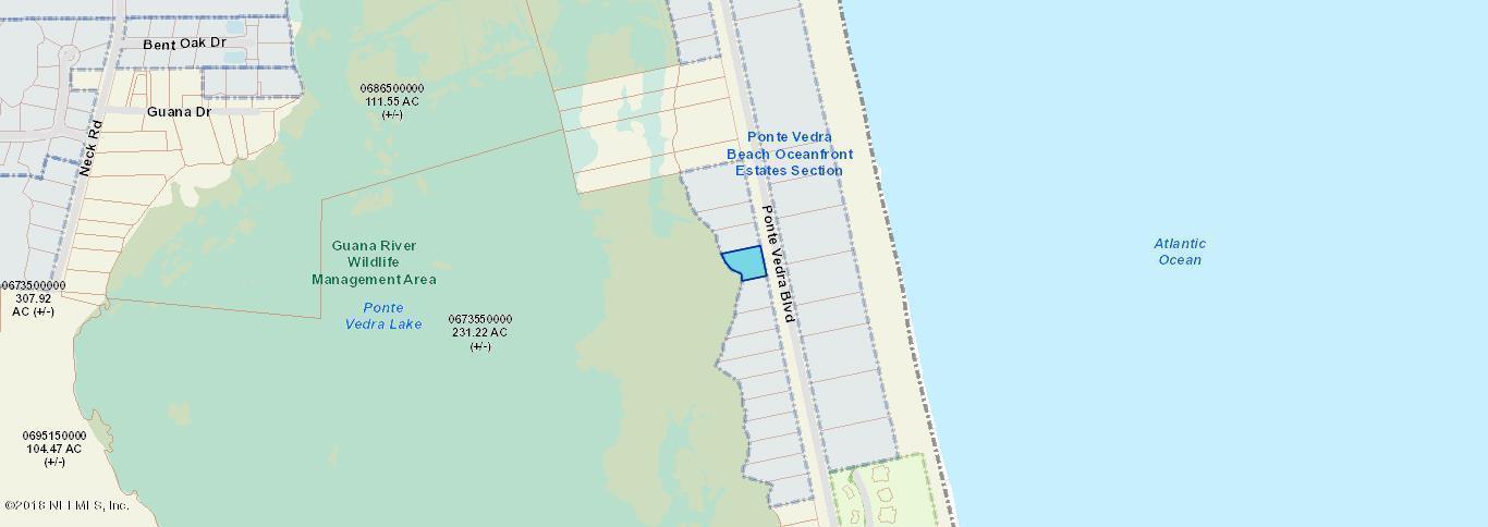 1198 PONTE VEDRA, PONTE VEDRA BEACH, FLORIDA 32082, ,Vacant land,For sale,PONTE VEDRA,946560