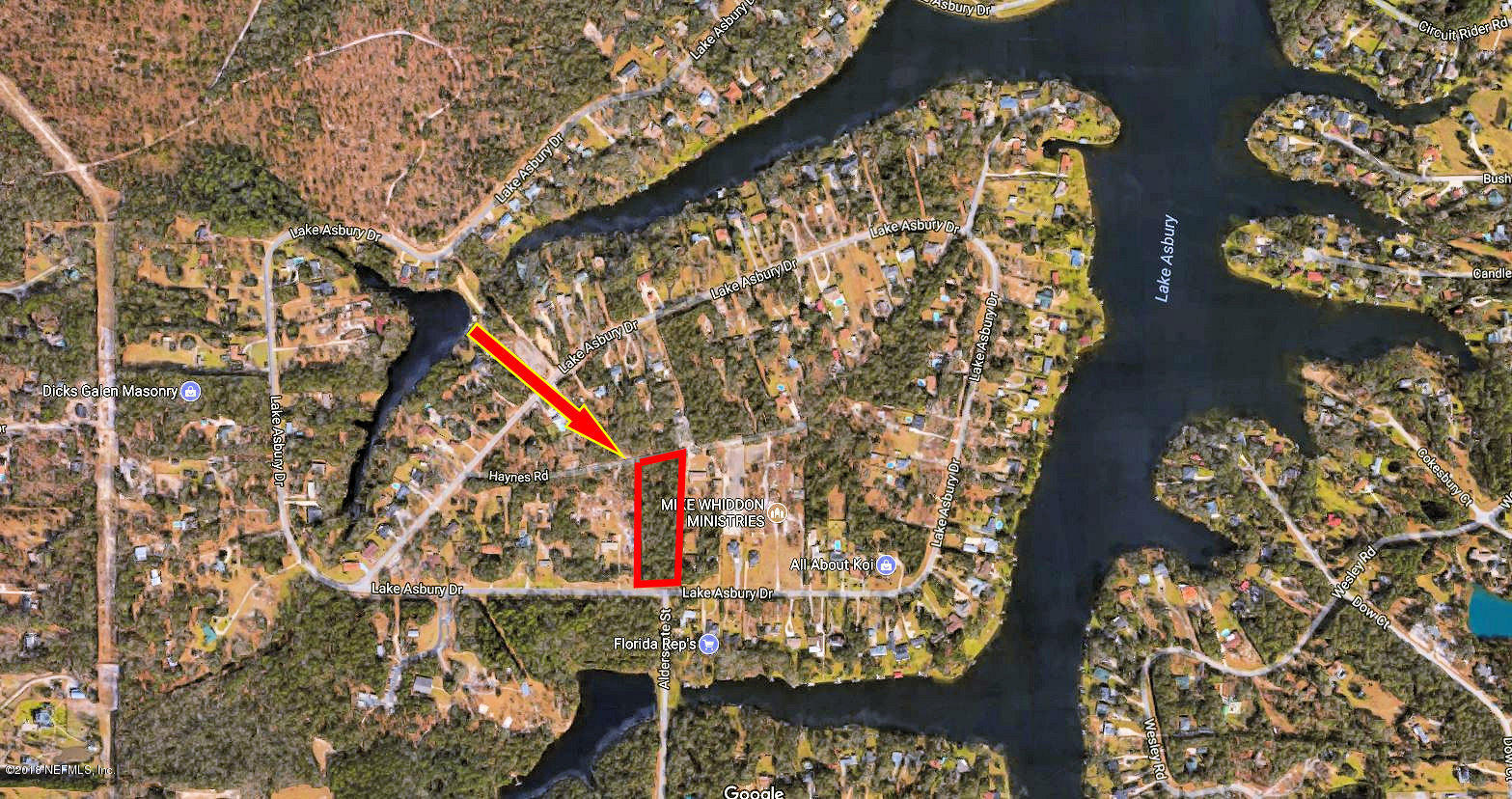 888 LAKE ASBURY, GREEN COVE SPRINGS, FLORIDA 32043, ,Vacant land,For sale,LAKE ASBURY,965122