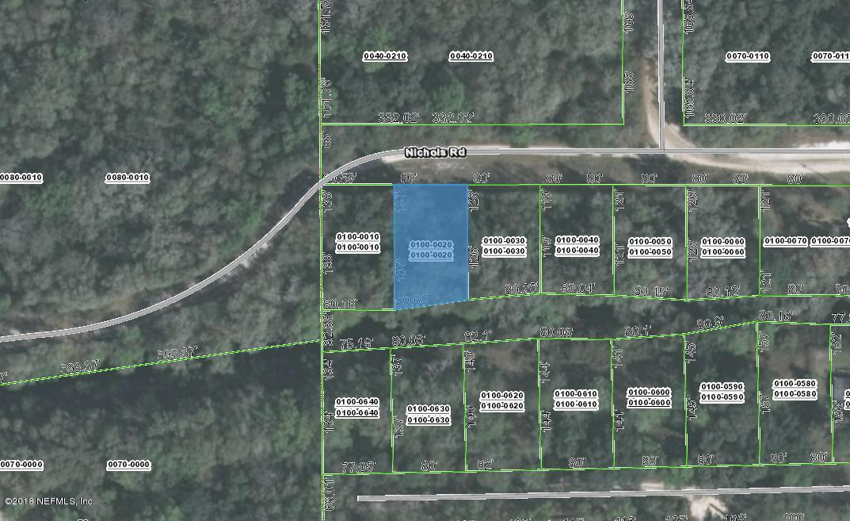 000 NICHOLS, FLORAHOME, FLORIDA 32140, ,Vacant land,For sale,NICHOLS,951660