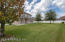 Nice size backyard with plenty of room for family fun or relaxing.