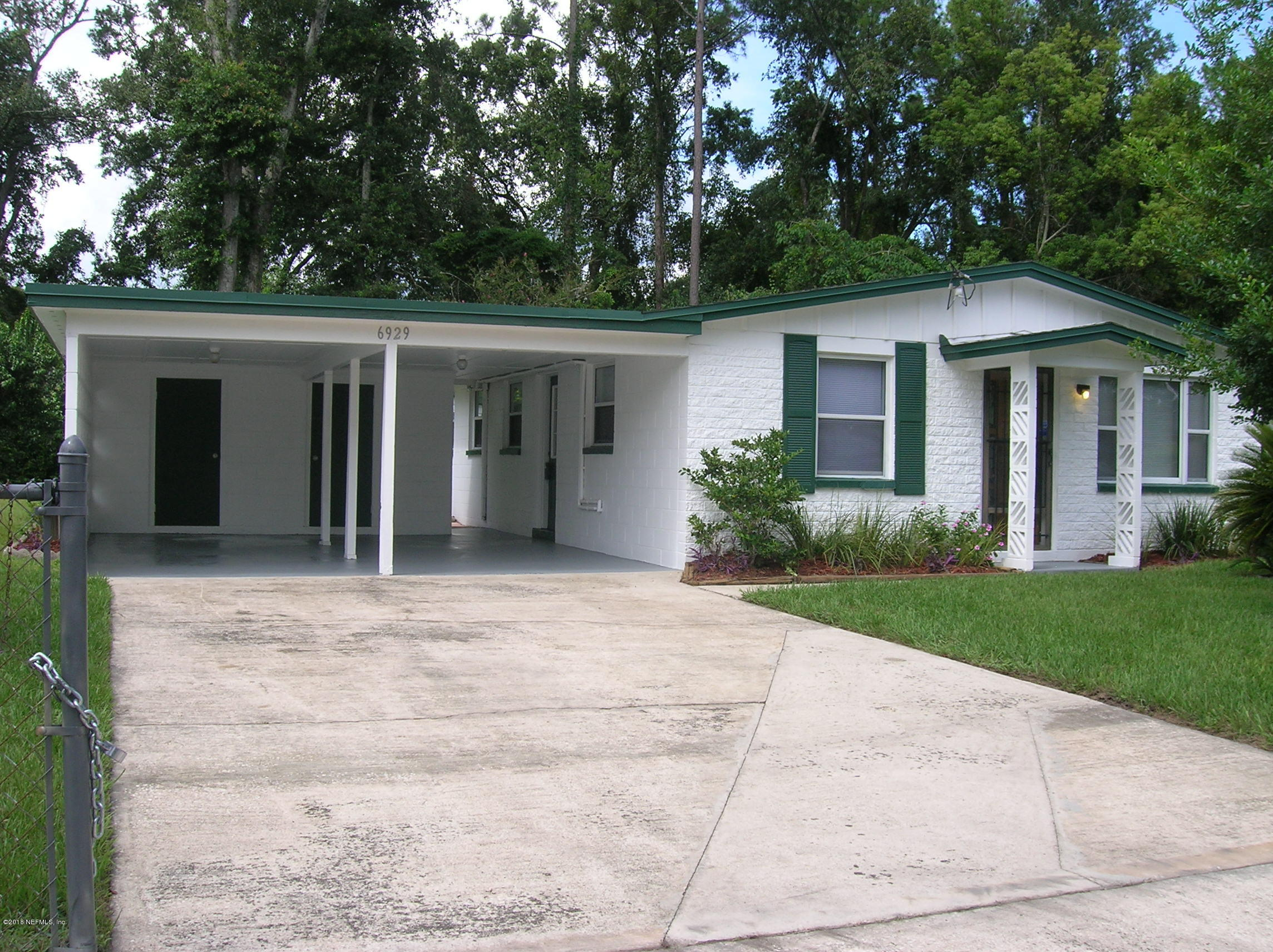 6929 SONORA, JACKSONVILLE, FLORIDA 32244, 3 Bedrooms Bedrooms, ,1 BathroomBathrooms,Residential - single family,For sale,SONORA,953305