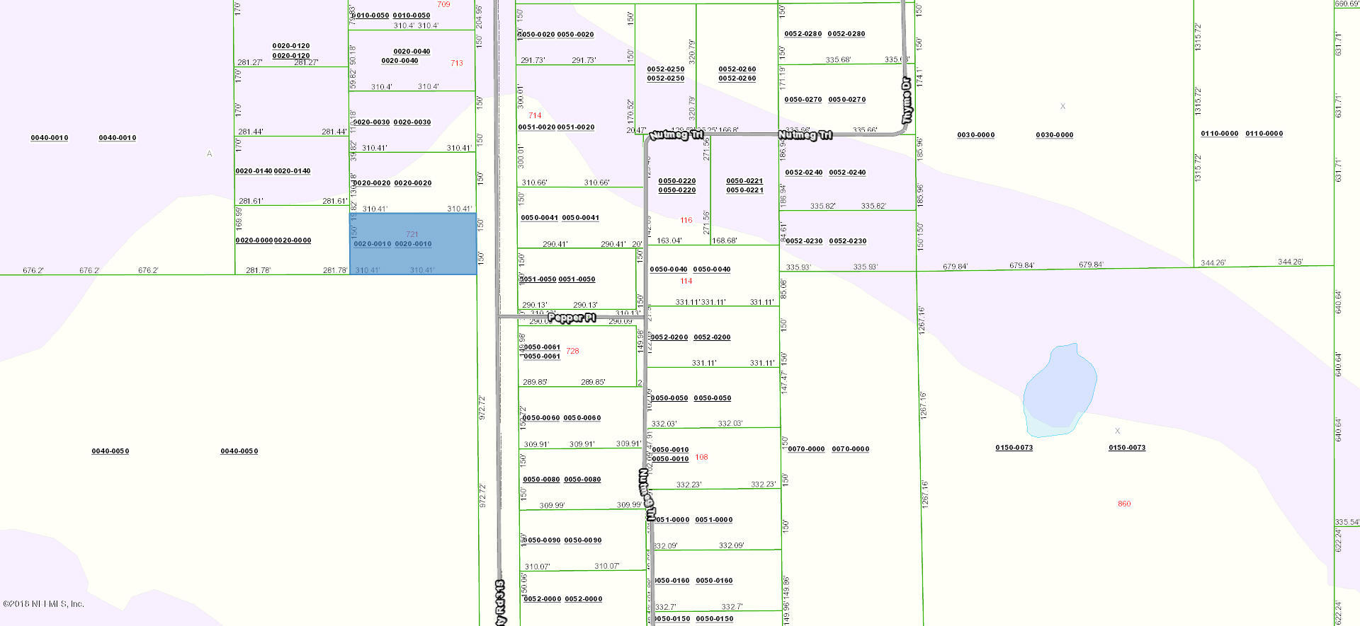 721 COUNTY RD 315, INTERLACHEN, FLORIDA 32148, ,Vacant land,For sale,COUNTY RD 315,953677