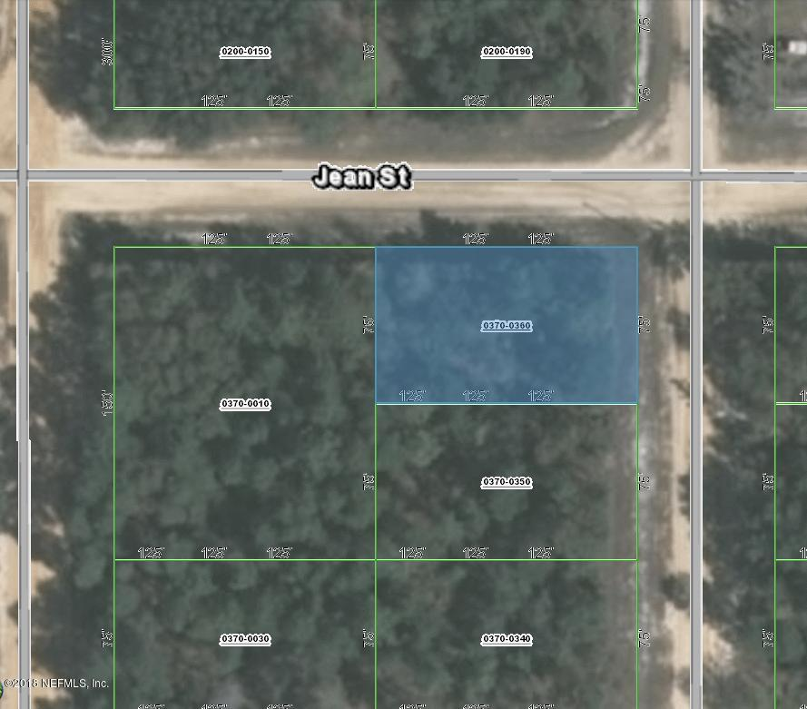 0 JEAN, INTERLACHEN, FLORIDA 32148, ,Vacant land,For sale,JEAN,953755
