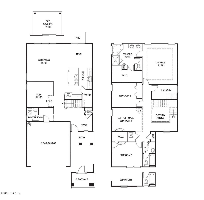 3945 HEATHERBROOK, ORANGE PARK, FLORIDA 32065, 3 Bedrooms Bedrooms, ,2 BathroomsBathrooms,Residential - single family,For sale,HEATHERBROOK,954470