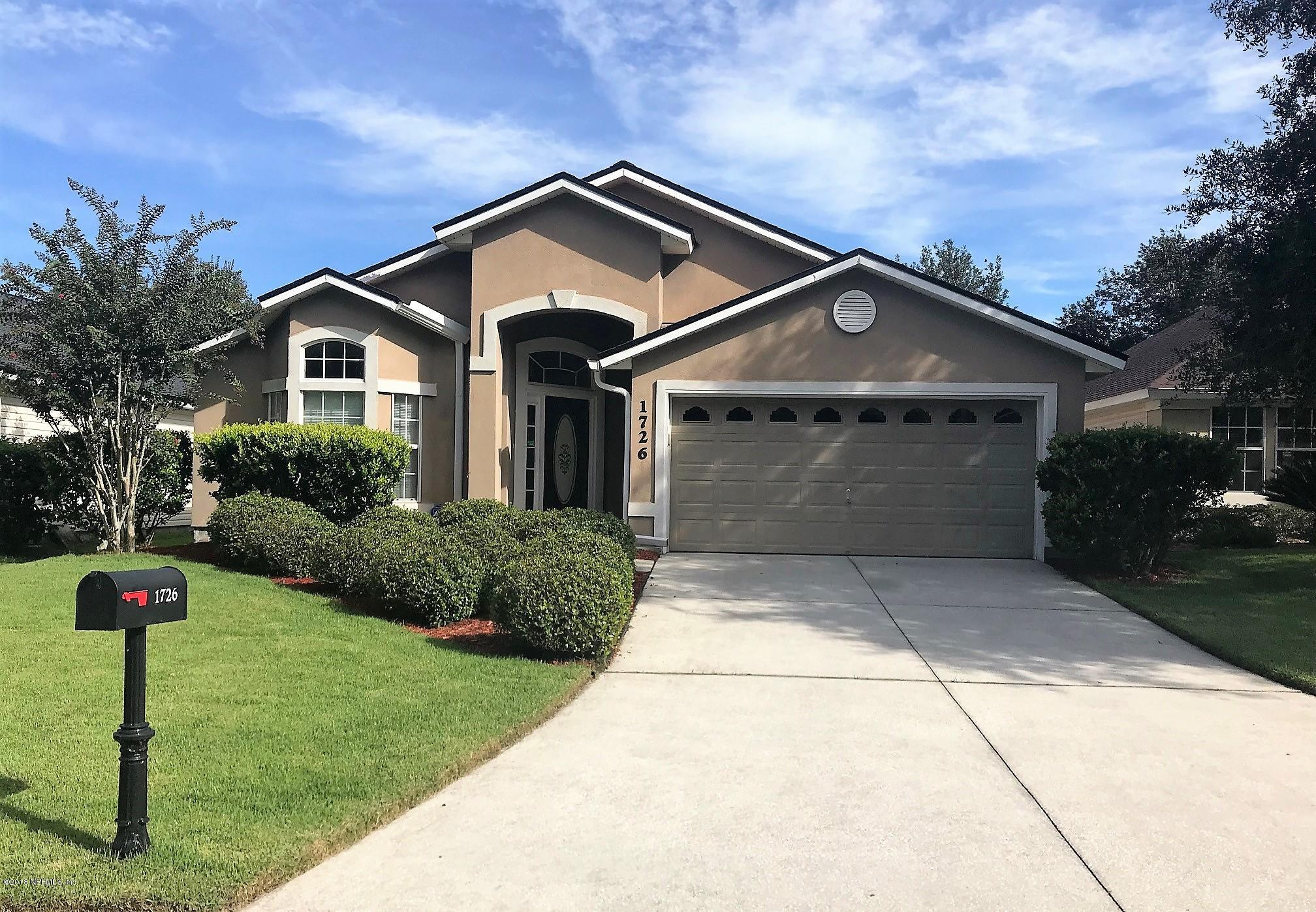 1726 MOSS CREEK, ORANGE PARK, FLORIDA 32003, 3 Bedrooms Bedrooms, ,2 BathroomsBathrooms,Residential - single family,For sale,MOSS CREEK,954908
