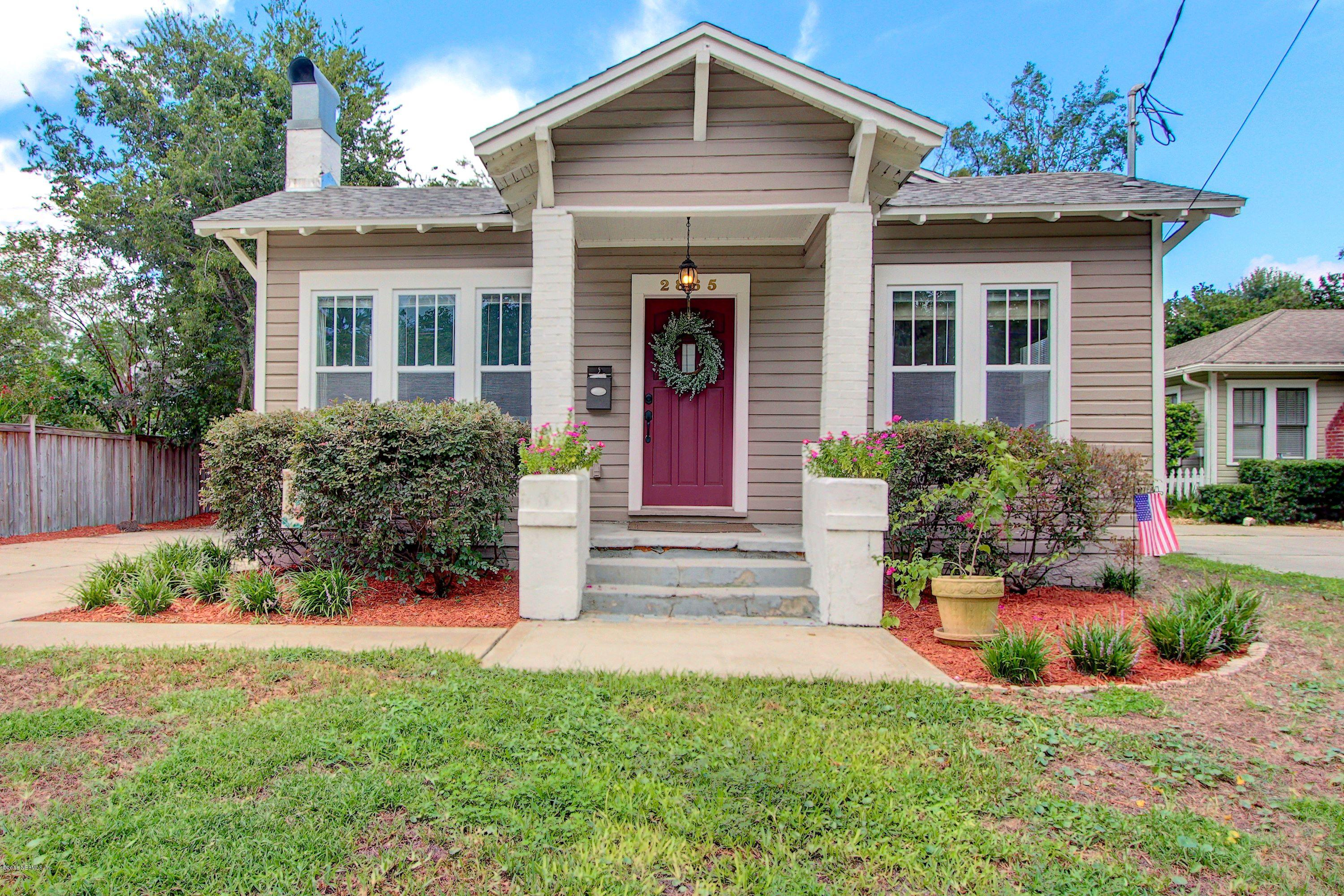2865 DOWNING, JACKSONVILLE, FLORIDA 32205, 2 Bedrooms Bedrooms, ,1 BathroomBathrooms,Residential - single family,For sale,DOWNING,955161