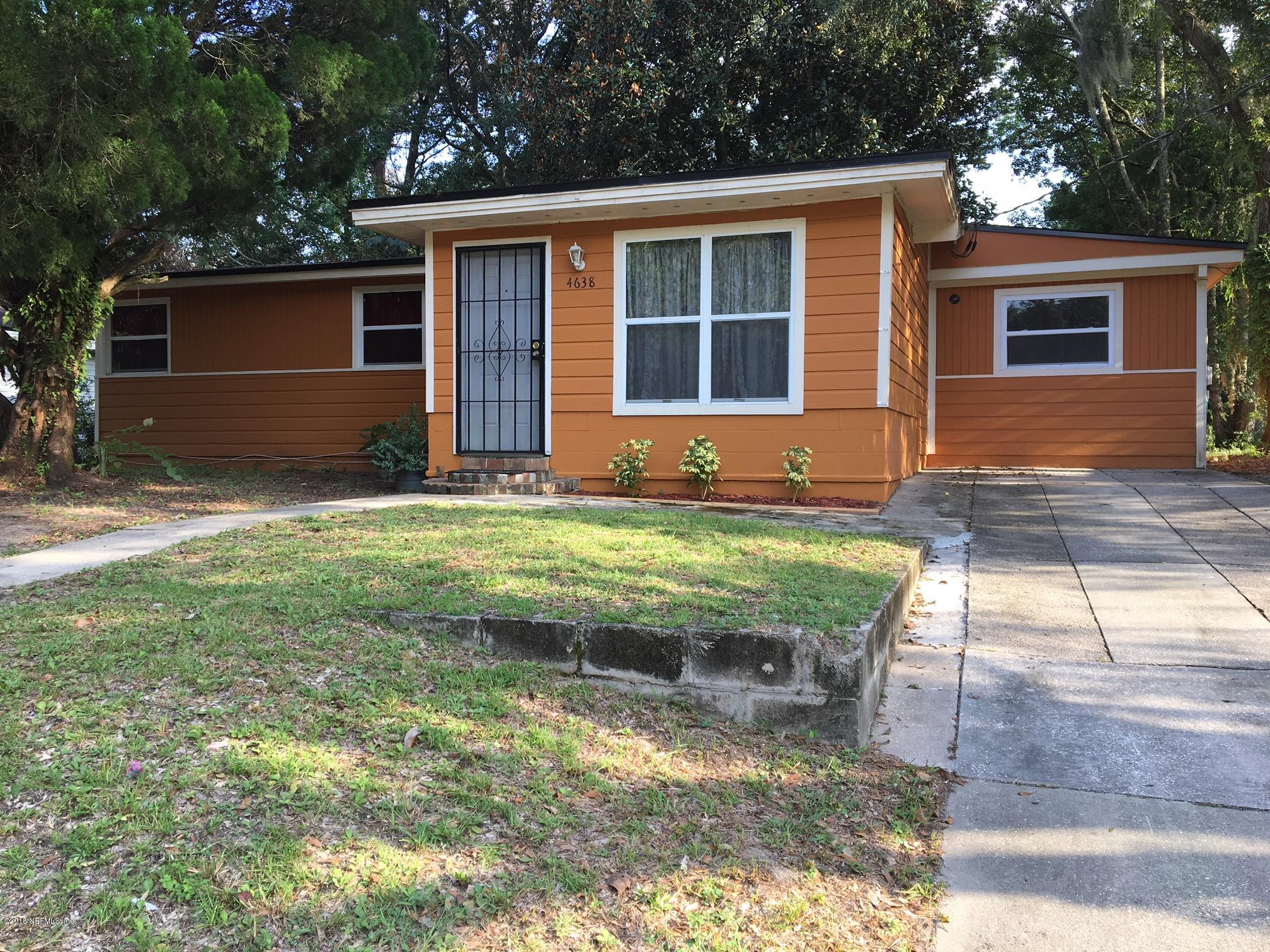 4638 SUFFOLK, JACKSONVILLE, FLORIDA 32208, 4 Bedrooms Bedrooms, ,2 BathroomsBathrooms,Residential - single family,For sale,SUFFOLK,953550