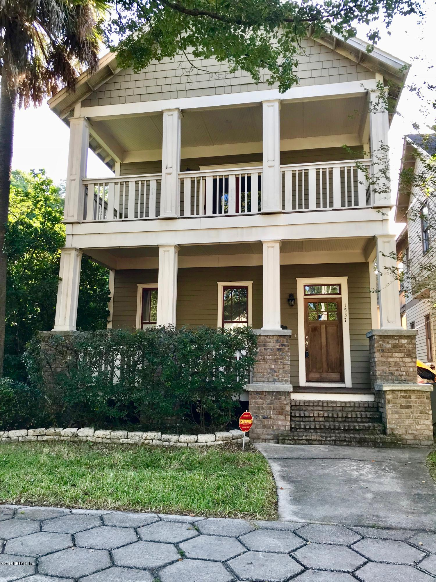1537 MARKET, JACKSONVILLE, FLORIDA 32206, 3 Bedrooms Bedrooms, ,2 BathroomsBathrooms,Residential - single family,For sale,MARKET,944023