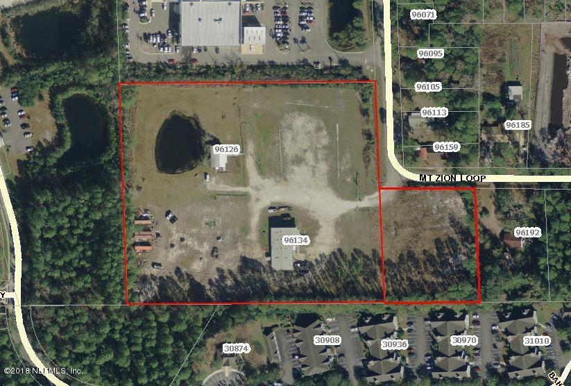 96134 MT ZION, YULEE, FLORIDA 32097, ,Vacant land,For sale,MT ZION,936574