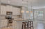Custom Cabinets with Stainless appliances. Granite Tops and kitchen breakfast bar