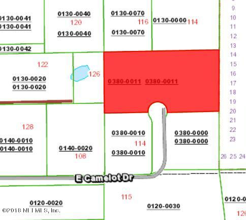 0 EAST CAMELOT, PALATKA, FLORIDA 32177, ,Vacant land,For sale,EAST CAMELOT,958434