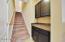 Stairs to huge bonus room
