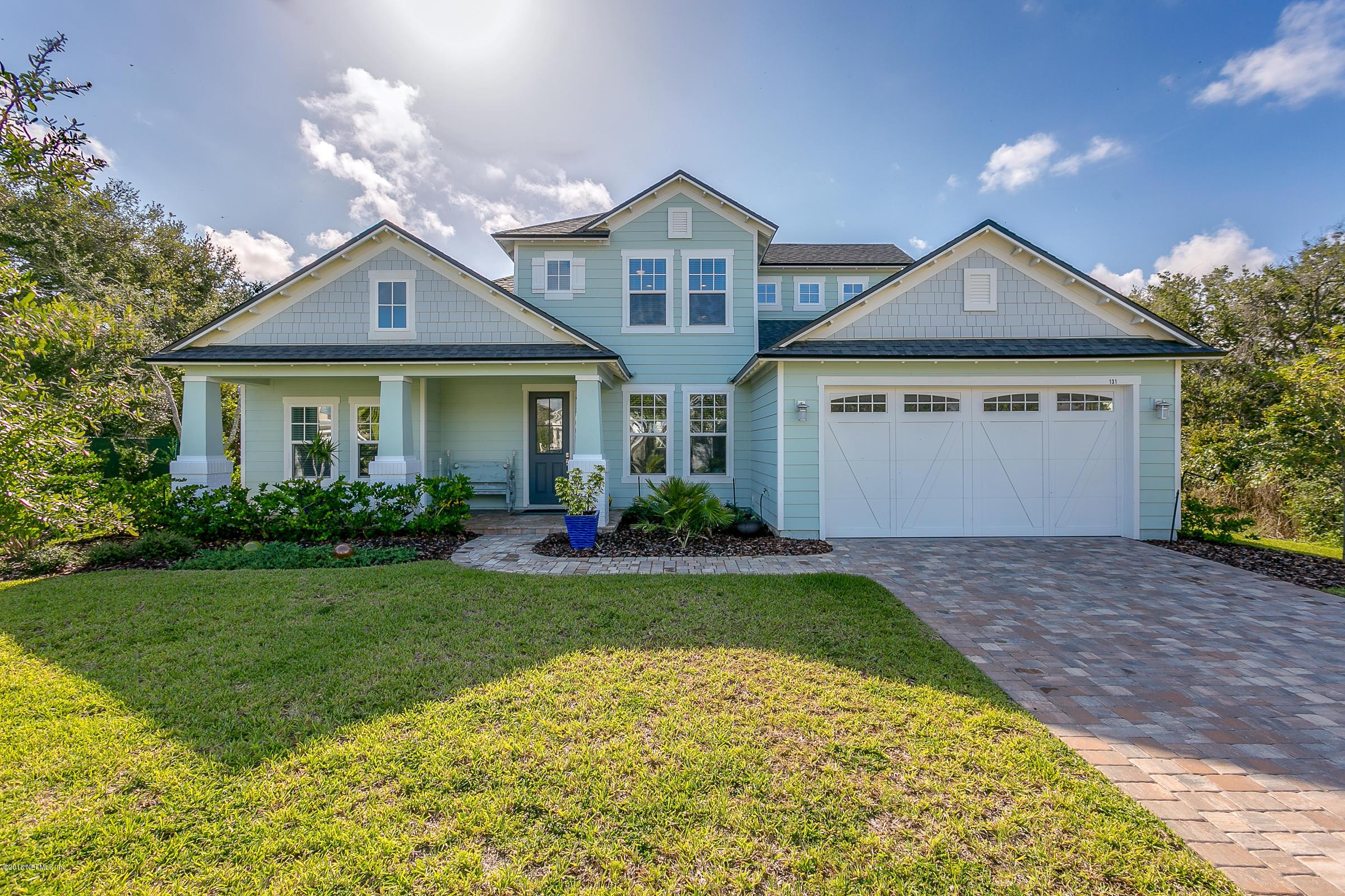 131 ESPANITA, ST AUGUSTINE, FLORIDA 32080, 5 Bedrooms Bedrooms, ,4 BathroomsBathrooms,Residential - single family,For sale,ESPANITA,959182