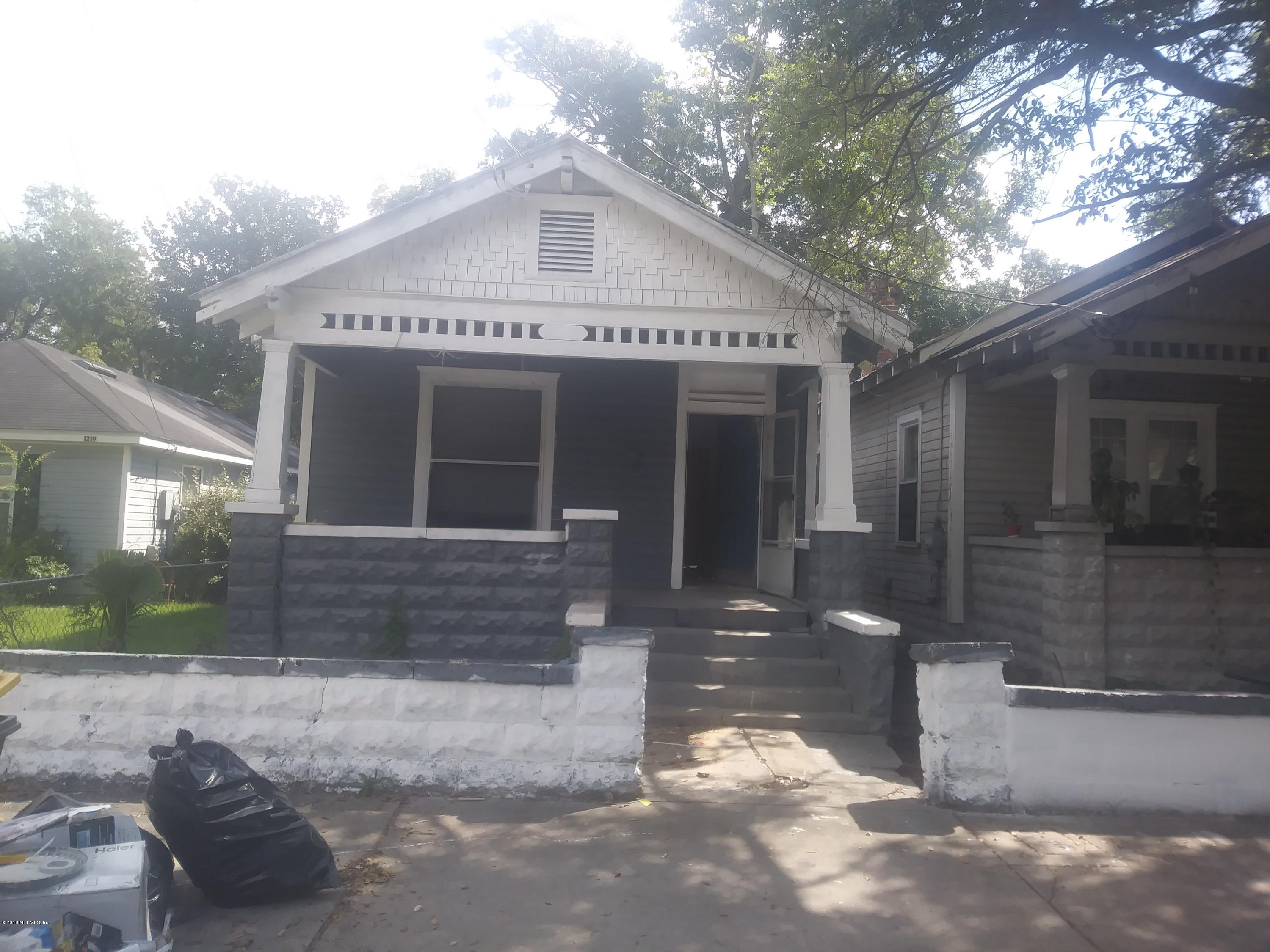 1215 FLORIDA, JACKSONVILLE, FLORIDA 32206, 2 Bedrooms Bedrooms, ,1 BathroomBathrooms,Residential - single family,For sale,FLORIDA,959212