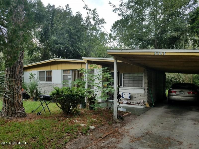 4804 CLYDE, JACKSONVILLE, FLORIDA 32208, 3 Bedrooms Bedrooms, ,1 BathroomBathrooms,Residential - single family,For sale,CLYDE,959295