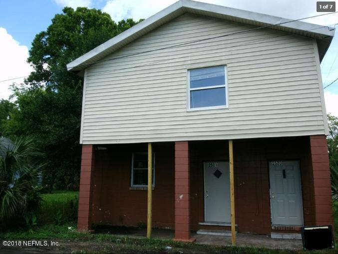 2501 JANETTE, JACKSONVILLE, FLORIDA 32209, 5 Bedrooms Bedrooms, ,2 BathroomsBathrooms,Multi family,For sale,JANETTE,959376