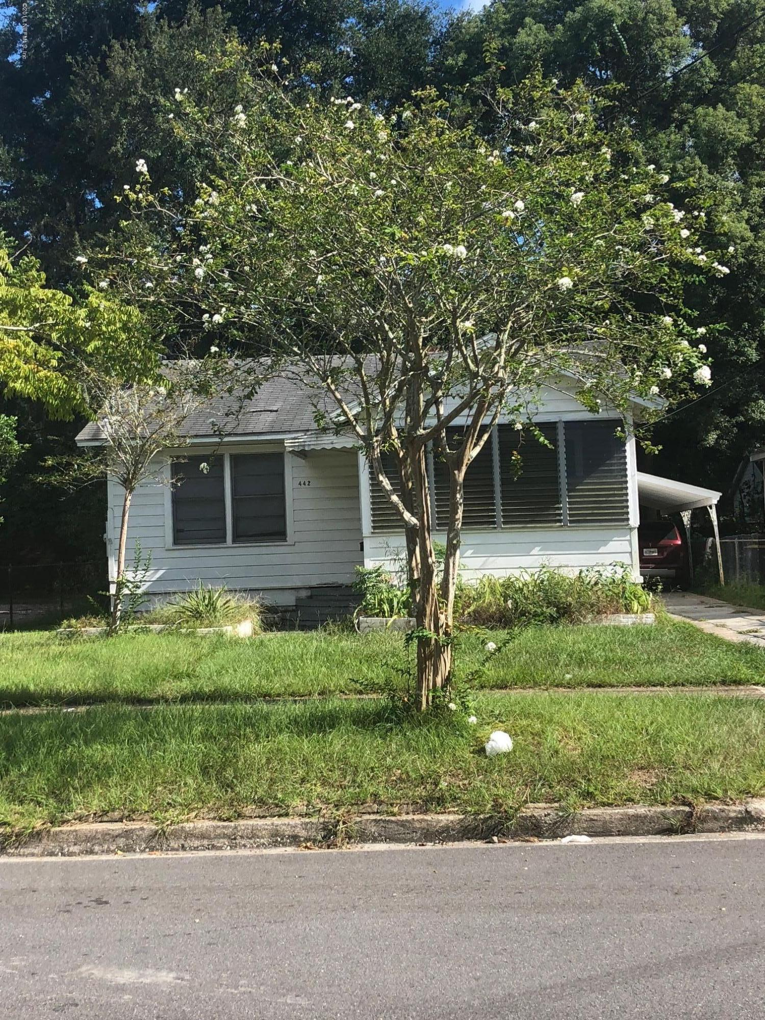 442 61ST, JACKSONVILLE, FLORIDA 32208, 3 Bedrooms Bedrooms, ,1 BathroomBathrooms,Single family,For sale,61ST,959597
