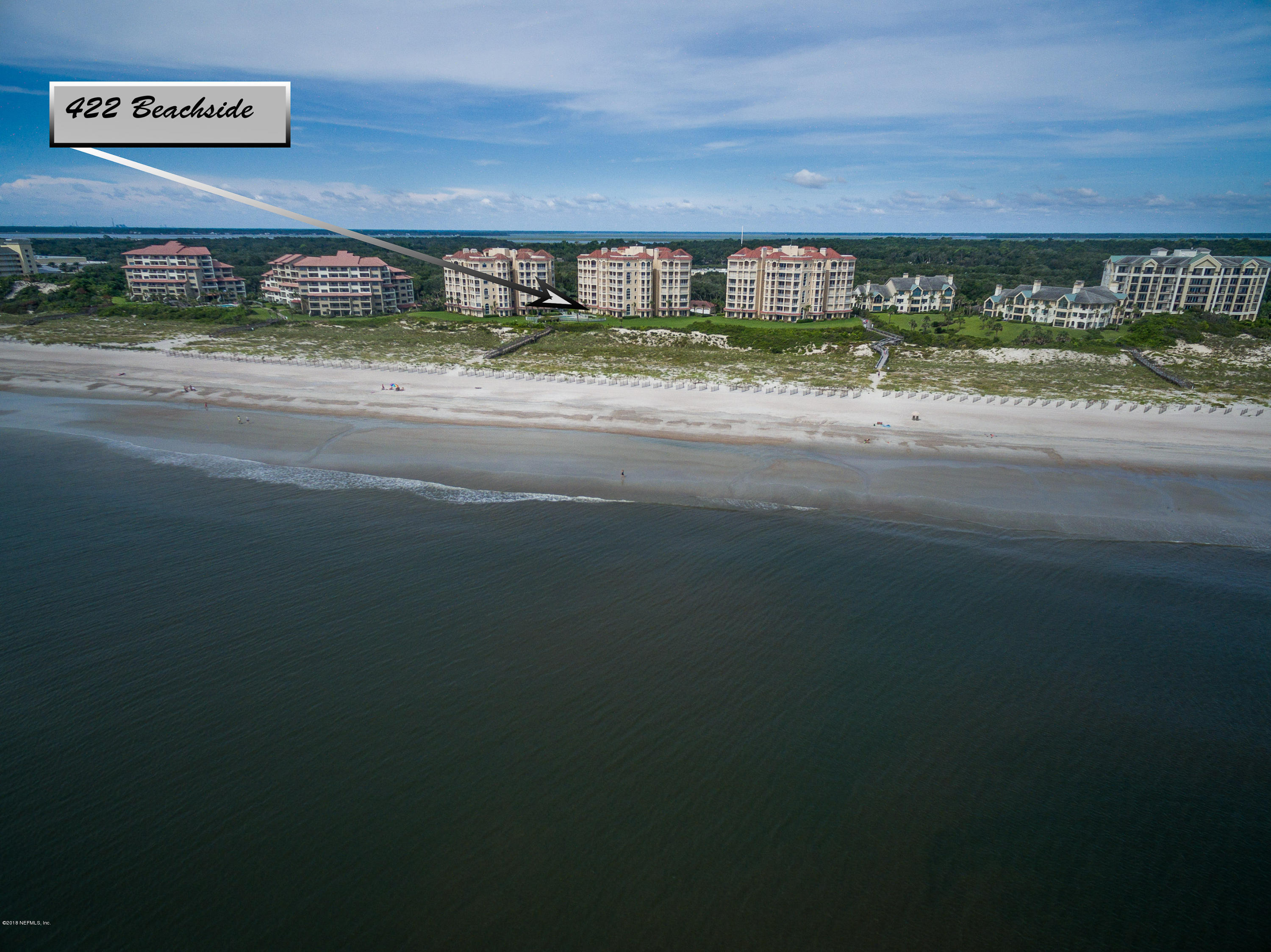 422 BEACHSIDE, AMELIA ISLAND, FLORIDA 32034, 3 Bedrooms Bedrooms, ,3 BathroomsBathrooms,Residential - condos/townhomes,For sale,BEACHSIDE,959863