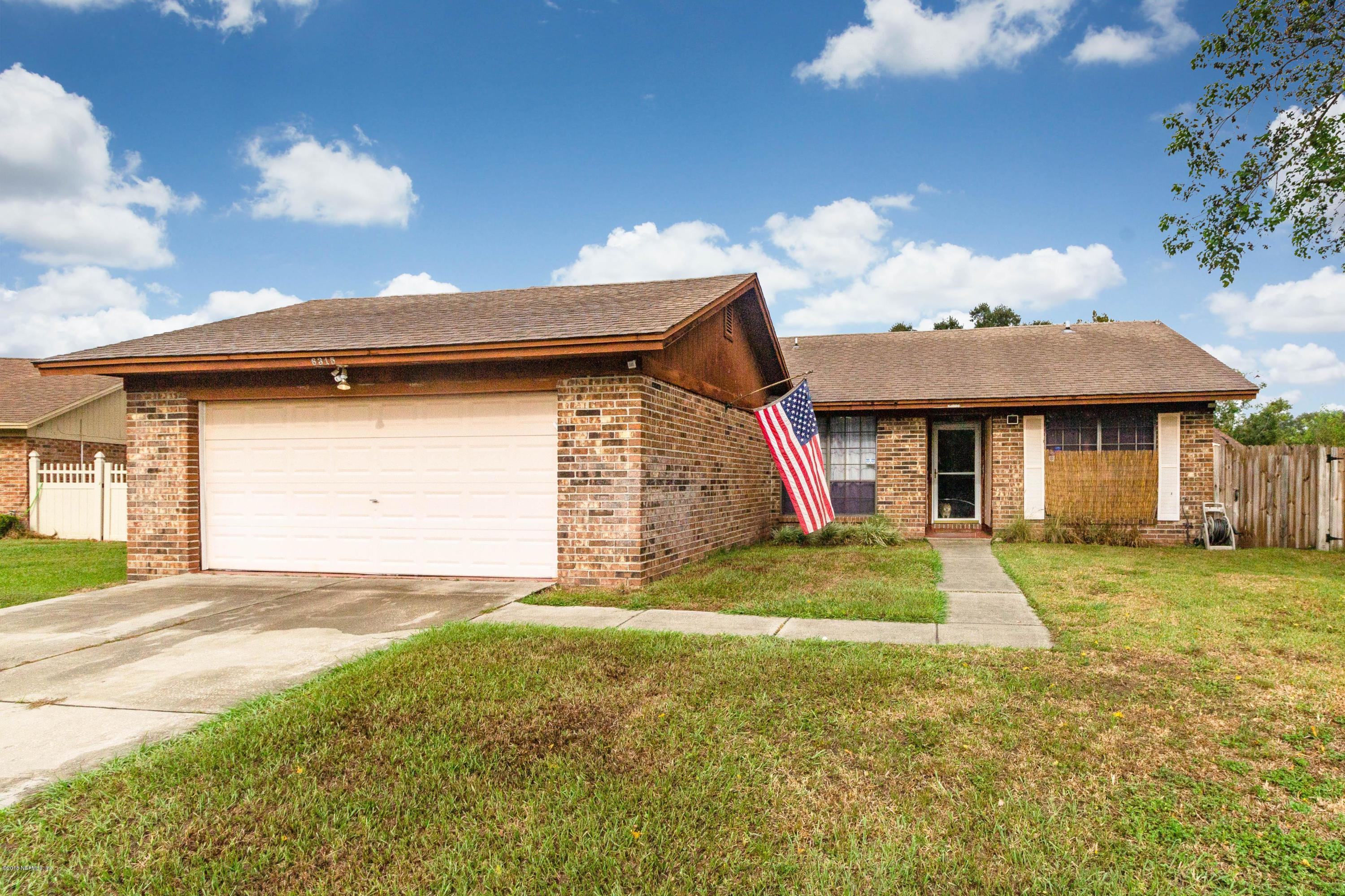 6315 IAN CHAD, JACKSONVILLE, FLORIDA 32244, 3 Bedrooms Bedrooms, ,2 BathroomsBathrooms,Residential - single family,For sale,IAN CHAD,961750