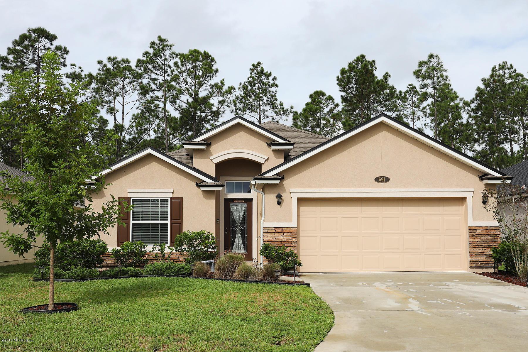 691 GLENDALE, ORANGE PARK, FLORIDA 32065, 4 Bedrooms Bedrooms, ,2 BathroomsBathrooms,Residential - single family,For sale,GLENDALE,963865