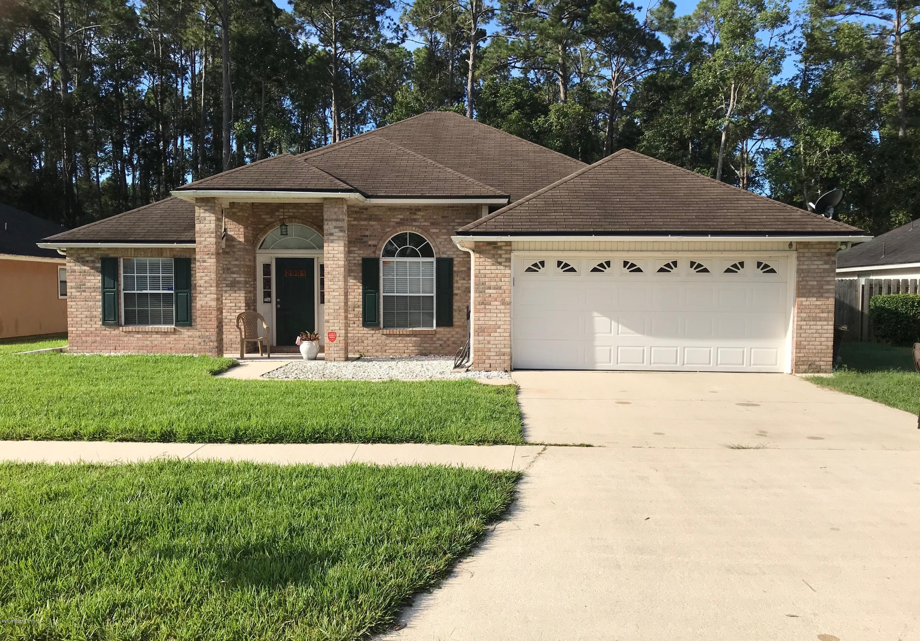 2981 Turning Leaf Ln Jacksonville, FL 32221