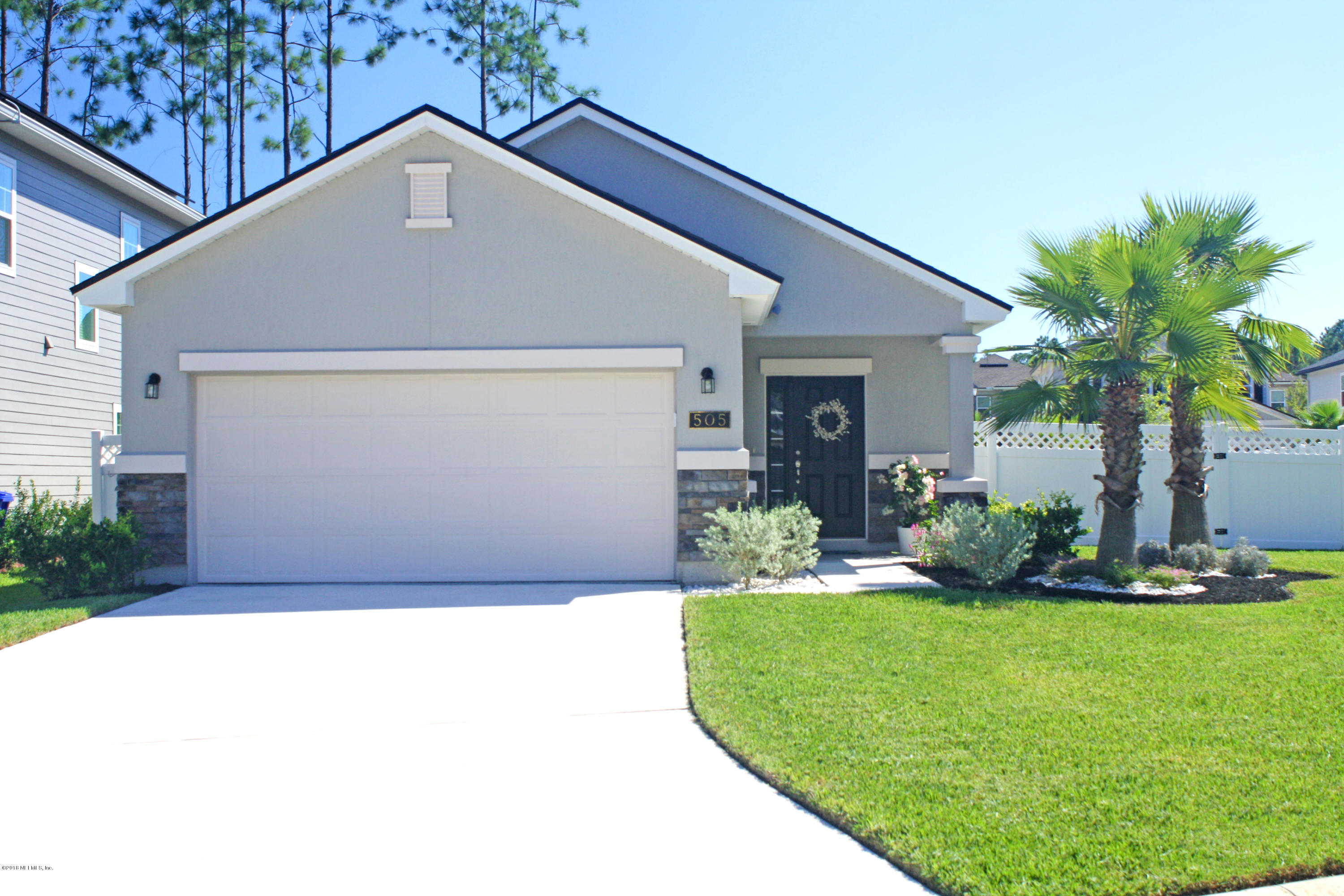 505 HERON LANDING, ST JOHNS, FLORIDA 32259, 3 Bedrooms Bedrooms, ,2 BathroomsBathrooms,Residential - single family,For sale,HERON LANDING,962349
