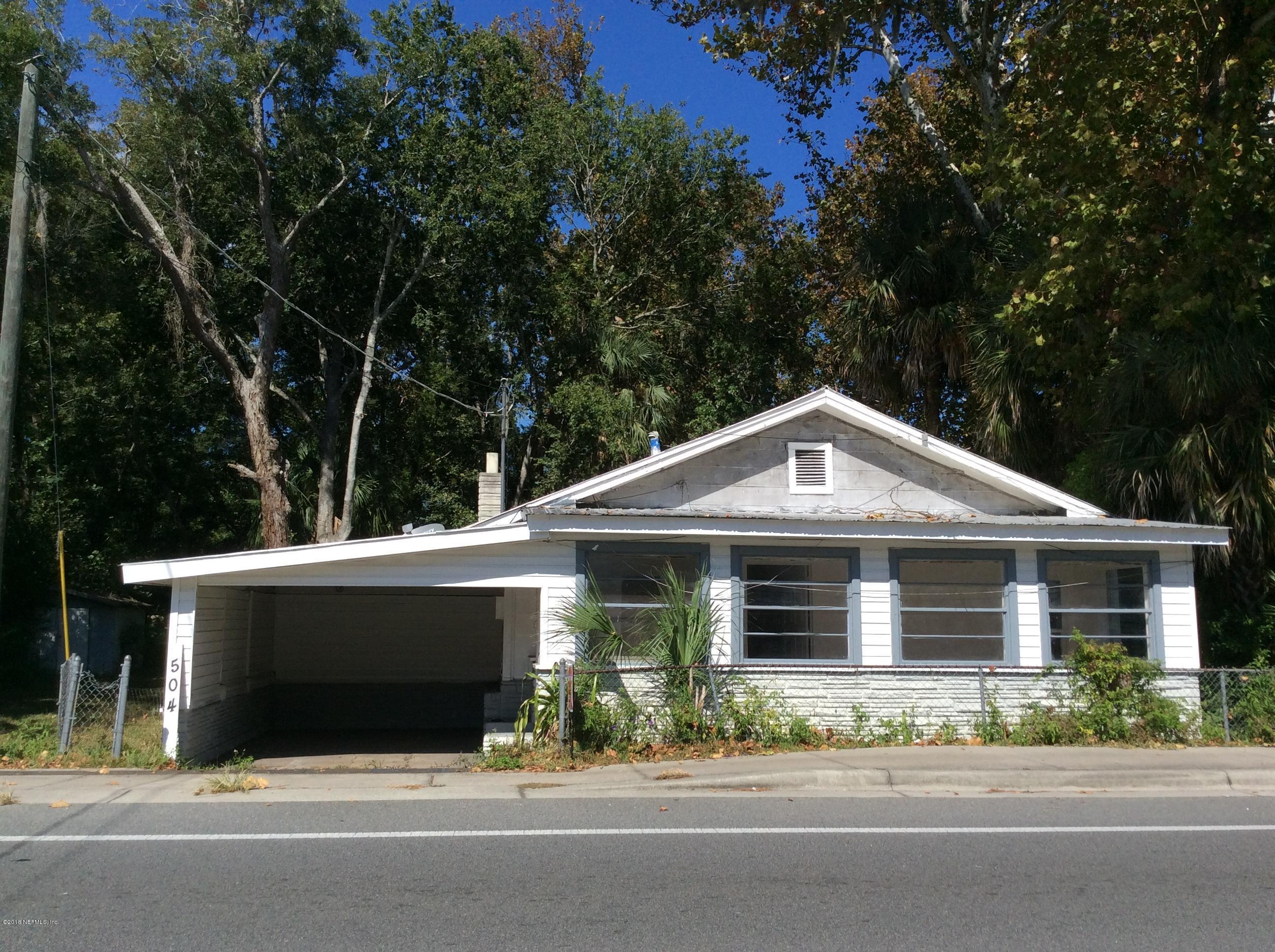504 Woodlawn Rd St Augustine, FL 32084