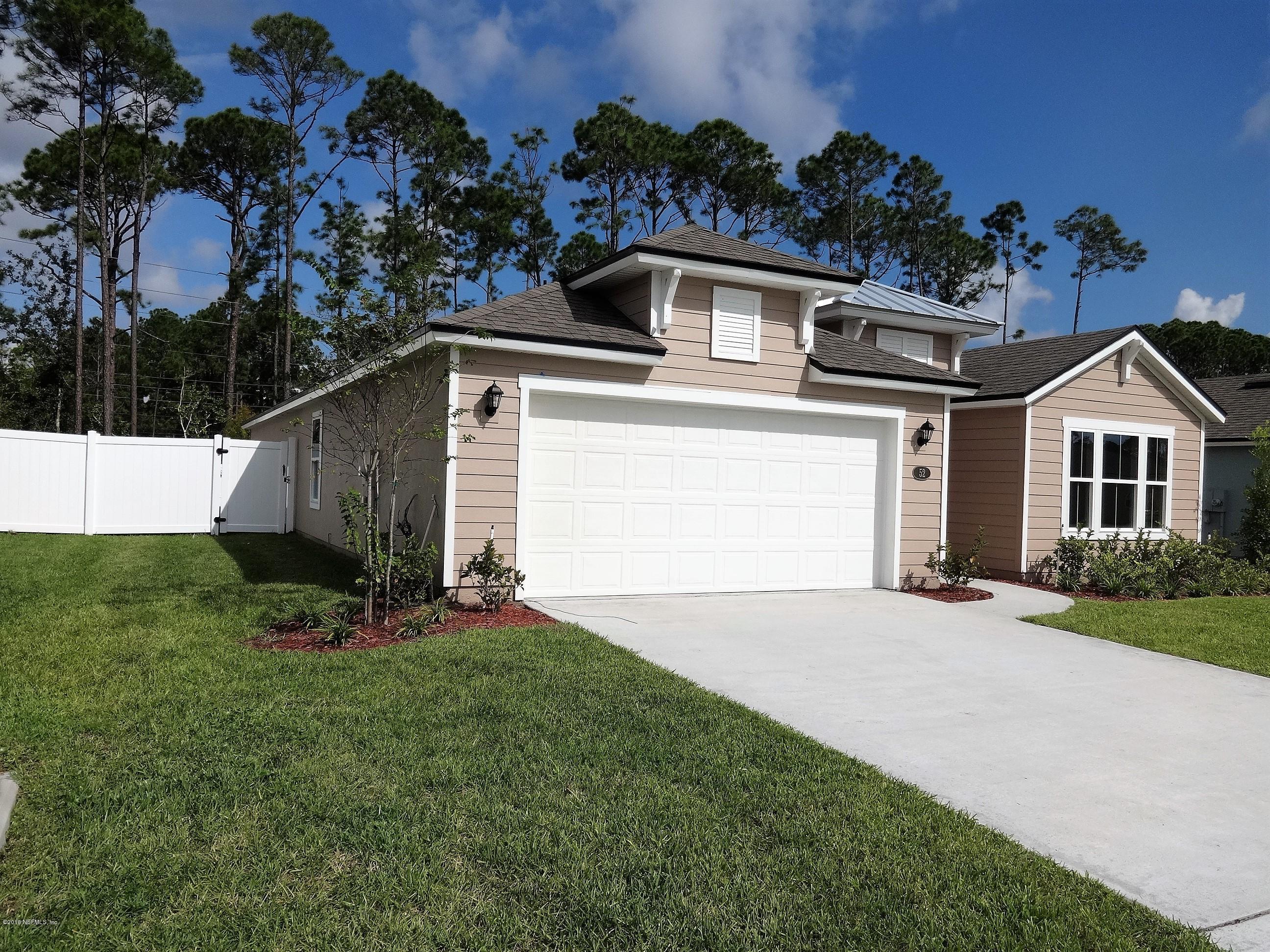 52 COASTAL HAMMOCK, ST AUGUSTINE, FLORIDA 32086, 4 Bedrooms Bedrooms, ,2 BathroomsBathrooms,Residential - single family,For sale,COASTAL HAMMOCK,923022