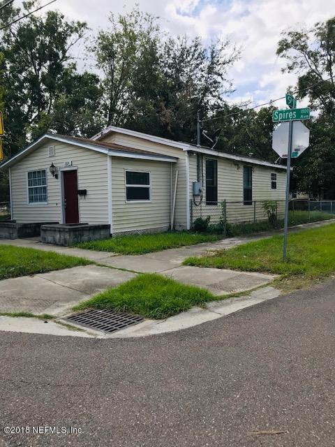1820 SPIRES, JACKSONVILLE, FLORIDA 32209, 3 Bedrooms Bedrooms, ,2 BathroomsBathrooms,Residential - single family,For sale,SPIRES,963404