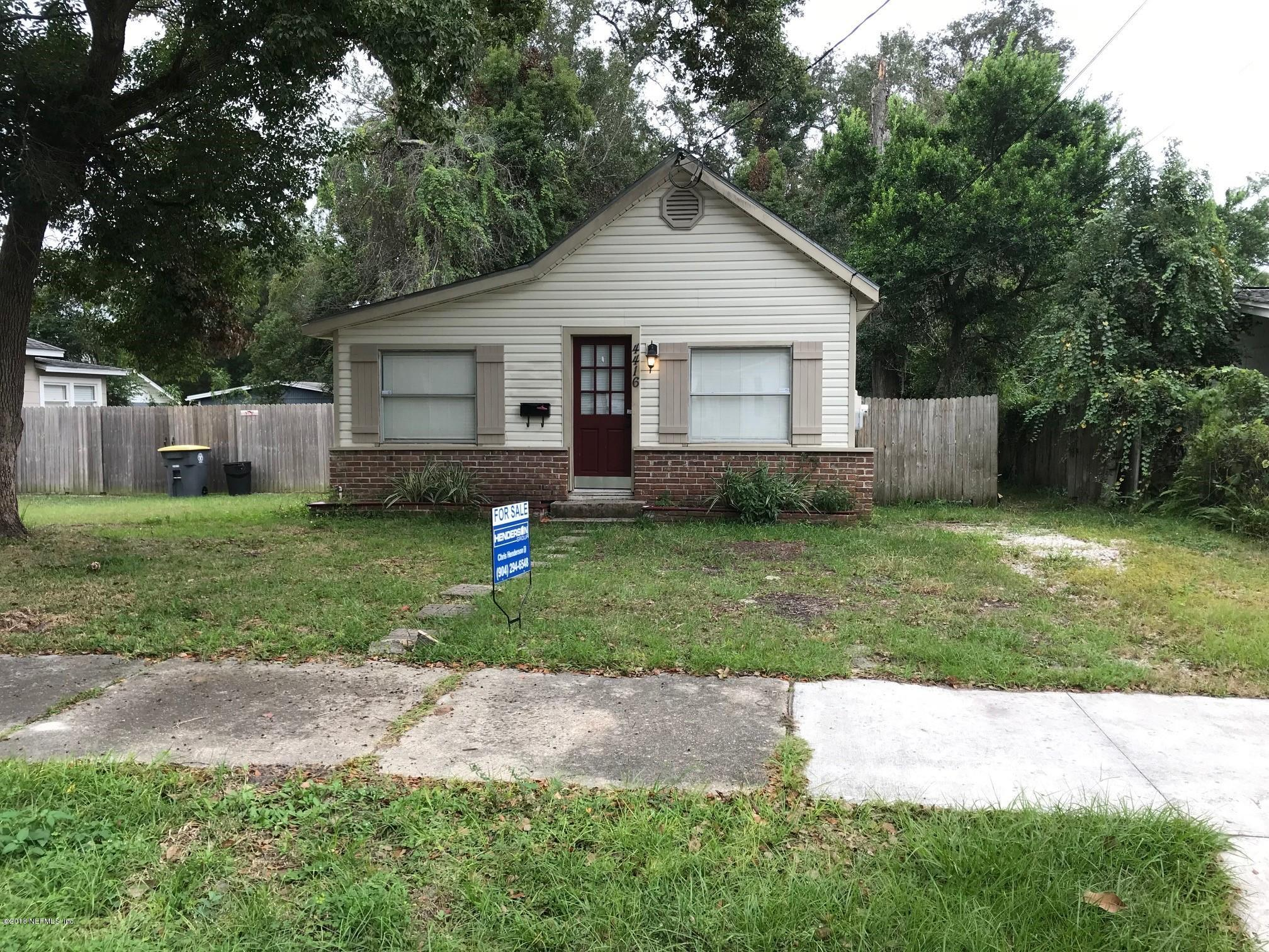 4416 BEVERLY, JACKSONVILLE, FLORIDA 32210, 3 Bedrooms Bedrooms, ,2 BathroomsBathrooms,Residential - single family,For sale,BEVERLY,964317