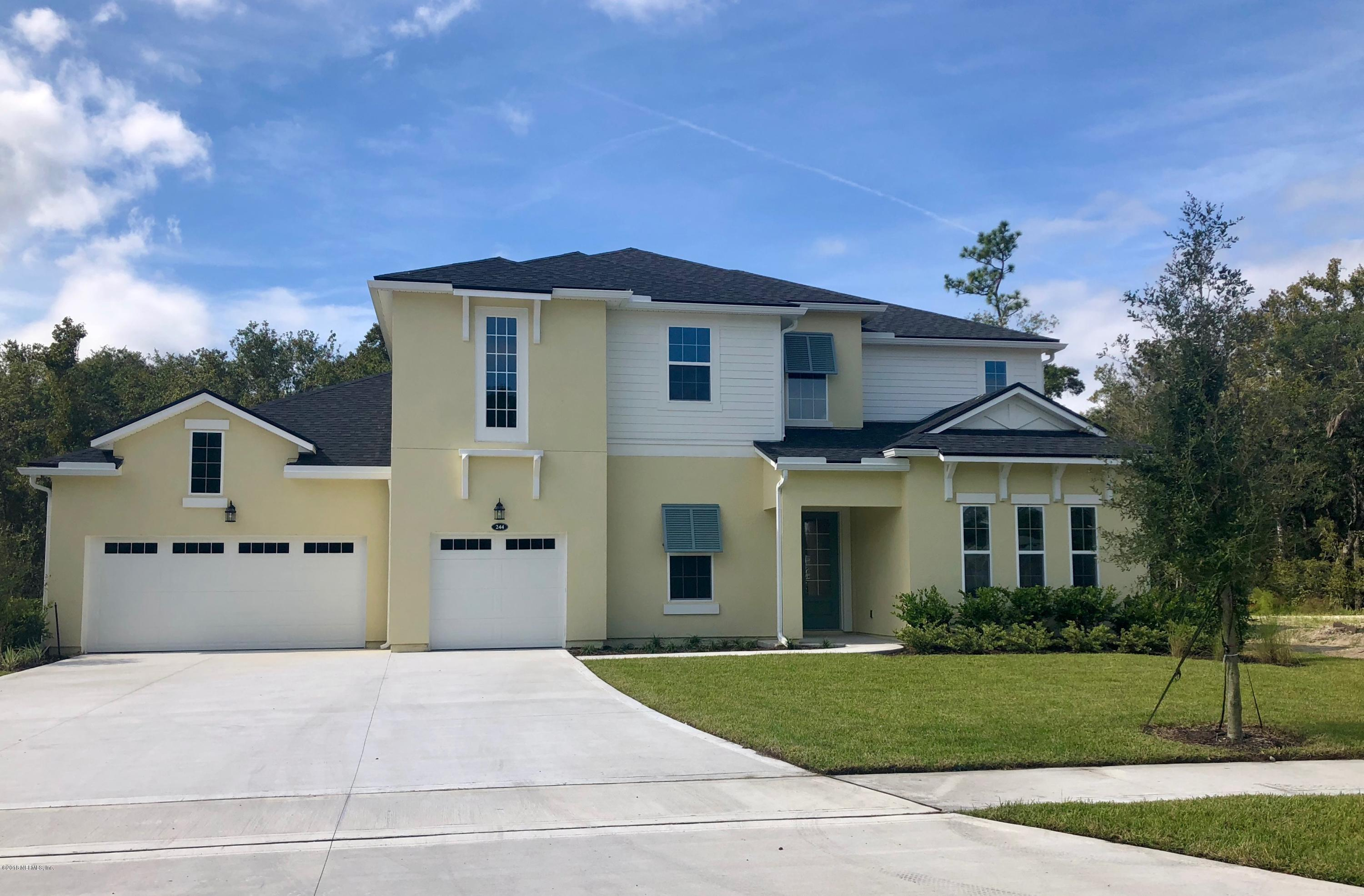 244 BROADLEAF, ST JOHNS, FLORIDA 32259, 4 Bedrooms Bedrooms, ,3 BathroomsBathrooms,Residential - single family,For sale,BROADLEAF,933467