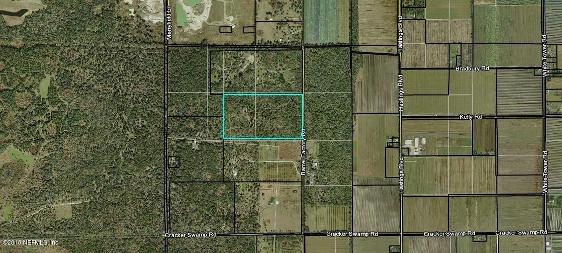9201 BARREL FACTORY, HASTINGS, FLORIDA 32145, ,Vacant land,For sale,BARREL FACTORY,964645