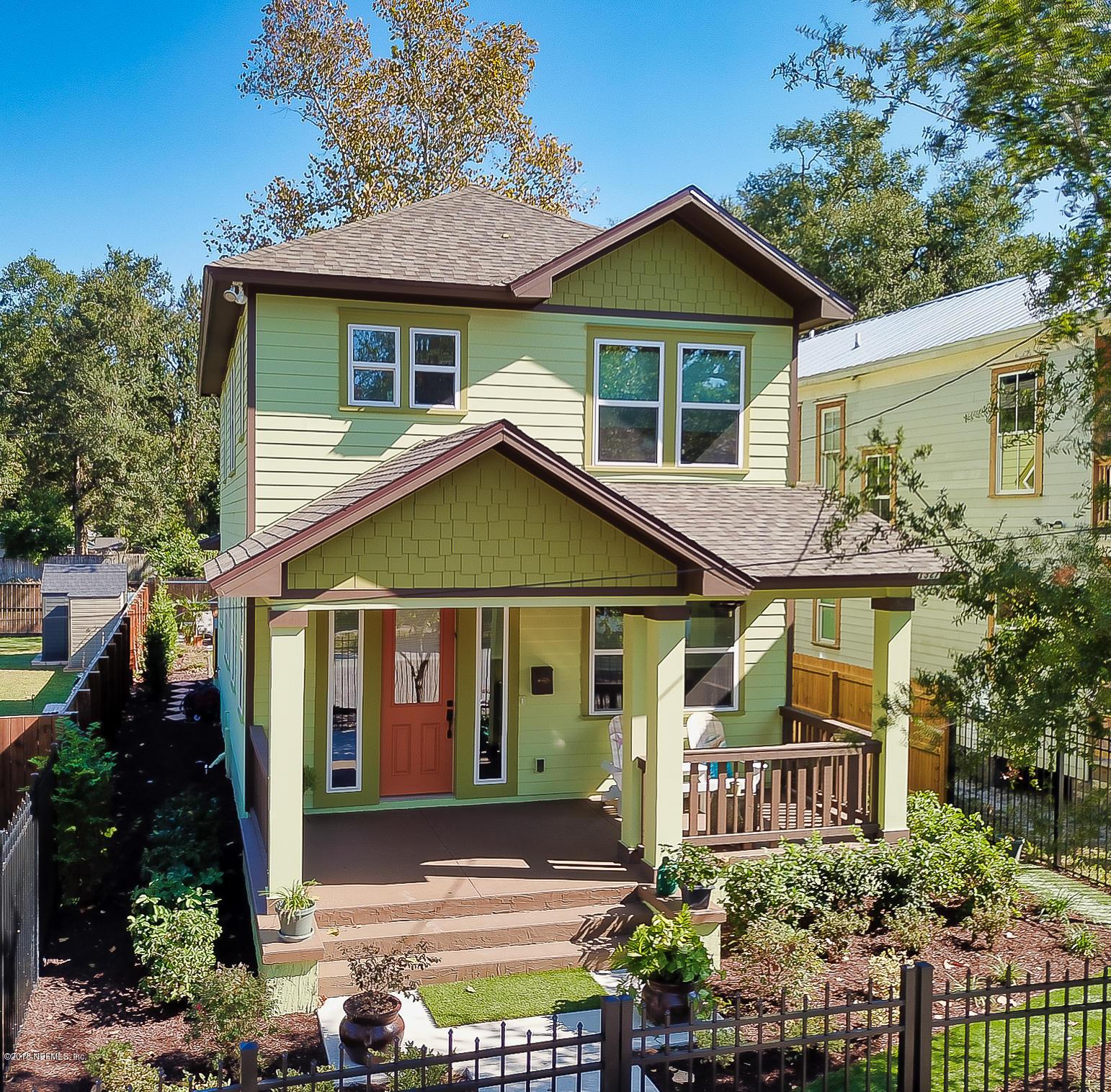 1327 WALNUT, JACKSONVILLE, FLORIDA 32206, 3 Bedrooms Bedrooms, ,3 BathroomsBathrooms,Residential - single family,For sale,WALNUT,964922
