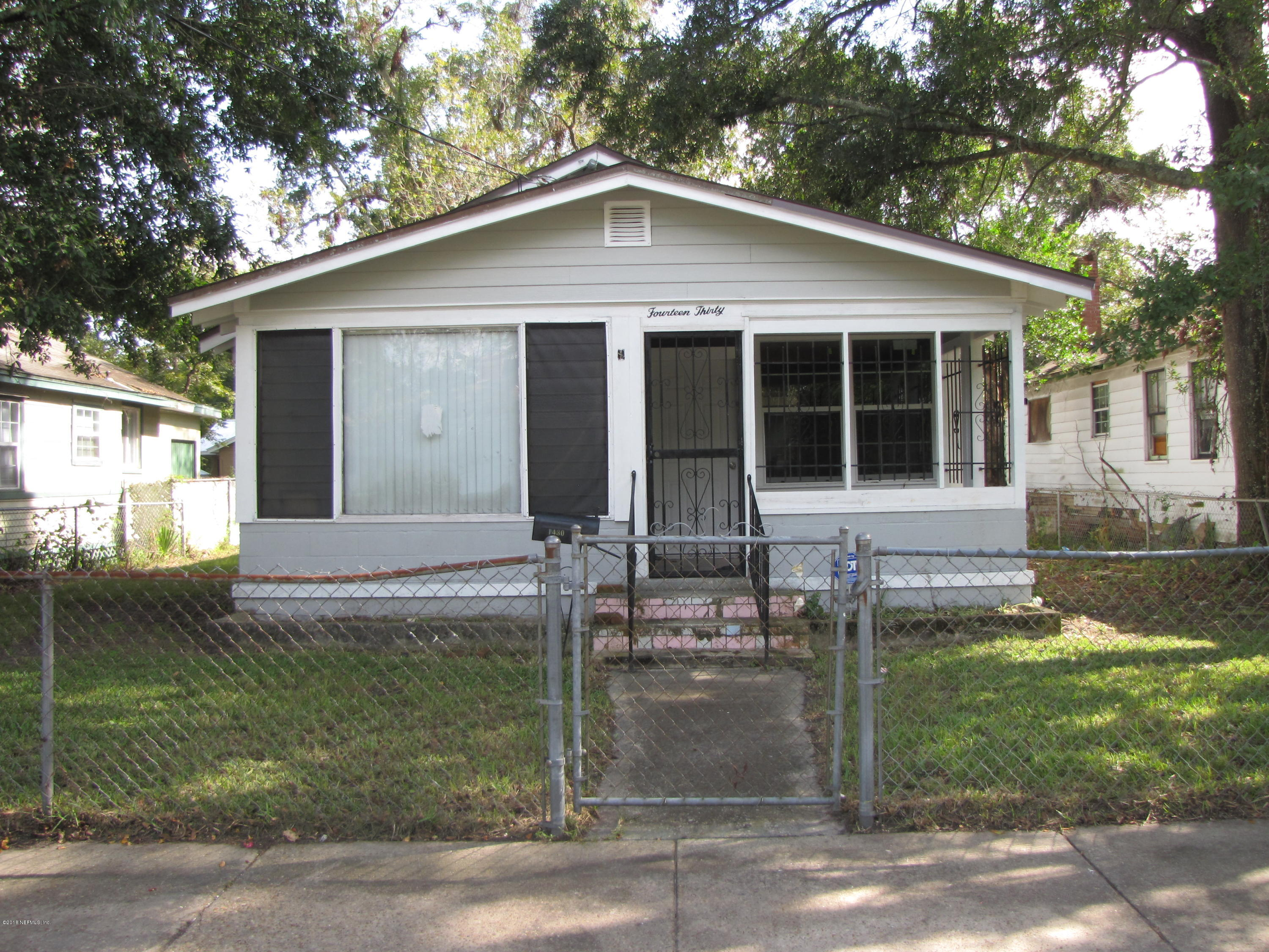1430 15TH, JACKSONVILLE, FLORIDA 32209, 3 Bedrooms Bedrooms, ,2 BathroomsBathrooms,Residential - single family,For sale,15TH,964737