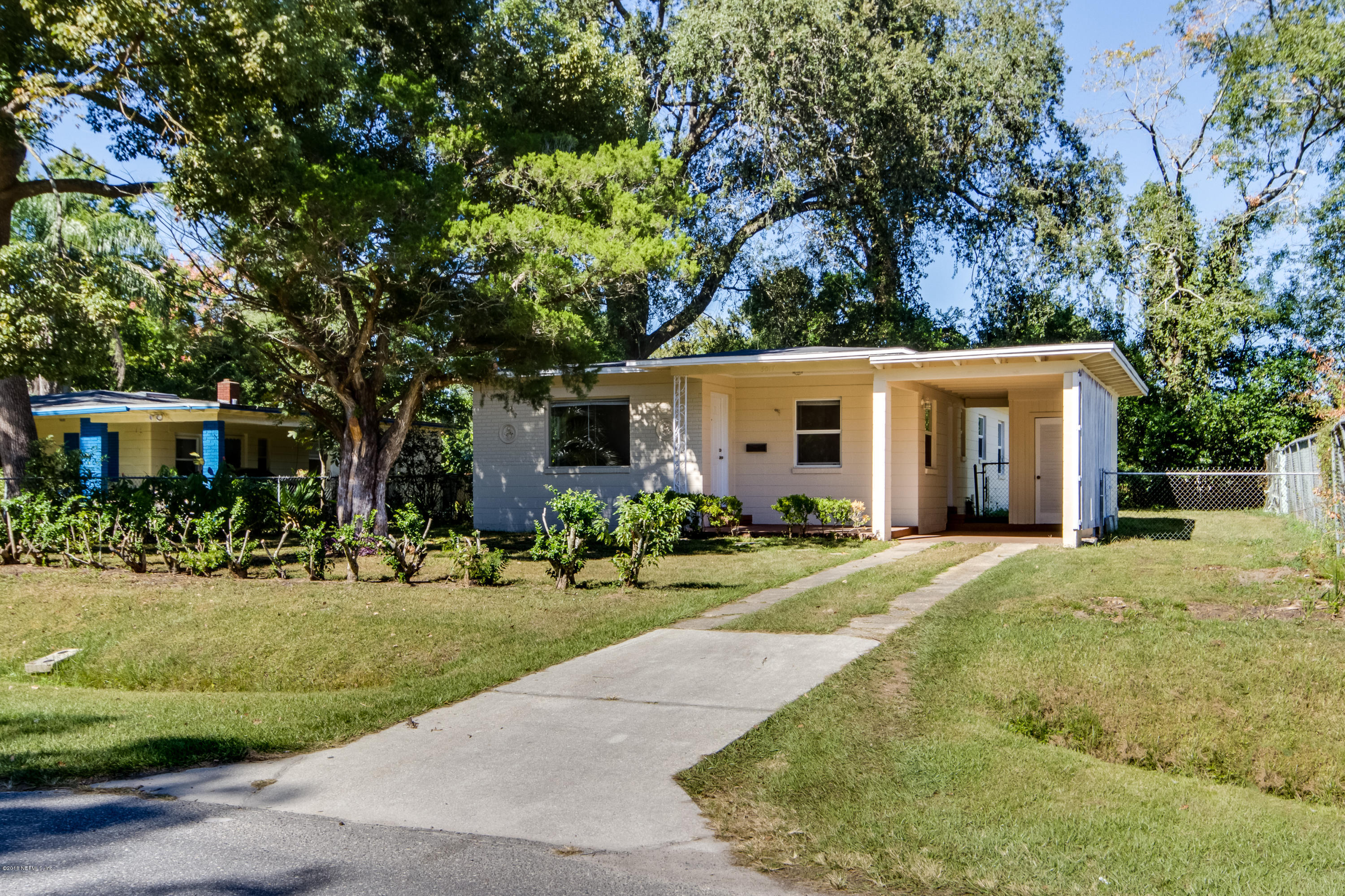 5017 GLENWOOD, JACKSONVILLE, FLORIDA 32205, 3 Bedrooms Bedrooms, ,1 BathroomBathrooms,Residential - single family,For sale,GLENWOOD,964822
