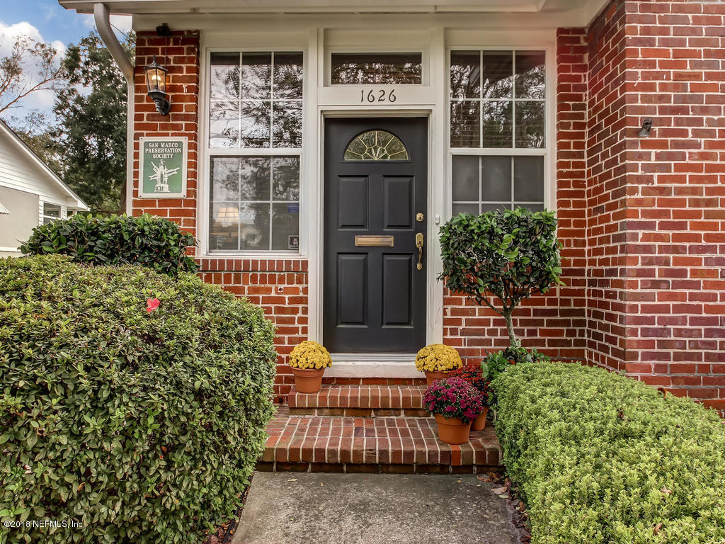 1626 BROOKWOOD, JACKSONVILLE, FLORIDA 32207, 3 Bedrooms Bedrooms, ,1 BathroomBathrooms,Residential - single family,For sale,BROOKWOOD,964819