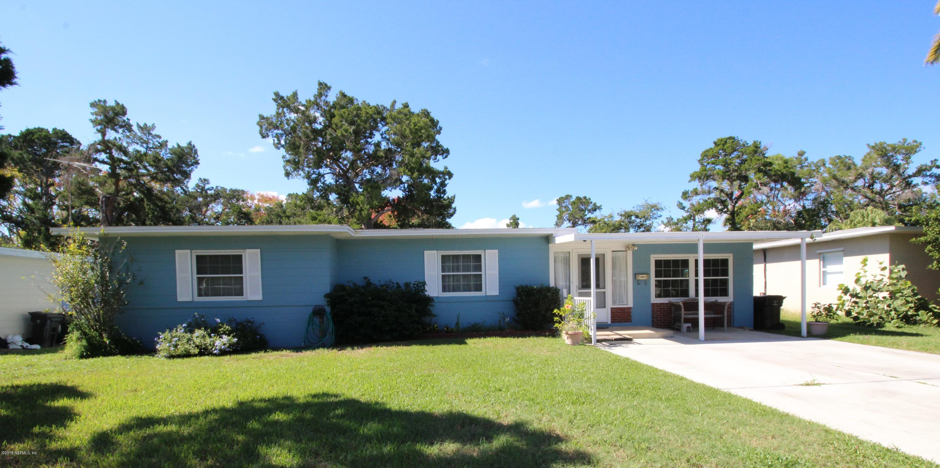 19 COQUINA, ST AUGUSTINE, FLORIDA 32080, 3 Bedrooms Bedrooms, ,1 BathroomBathrooms,Residential - single family,For sale,COQUINA,965203