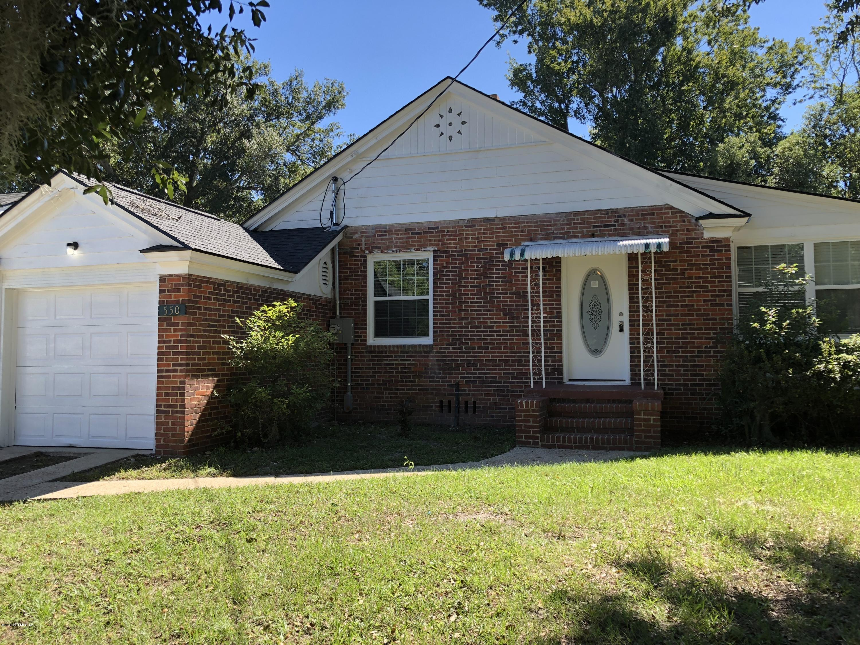 550 CHESTNUT, JACKSONVILLE, FLORIDA 32208, 2 Bedrooms Bedrooms, ,1 BathroomBathrooms,Residential - single family,For sale,CHESTNUT,965080