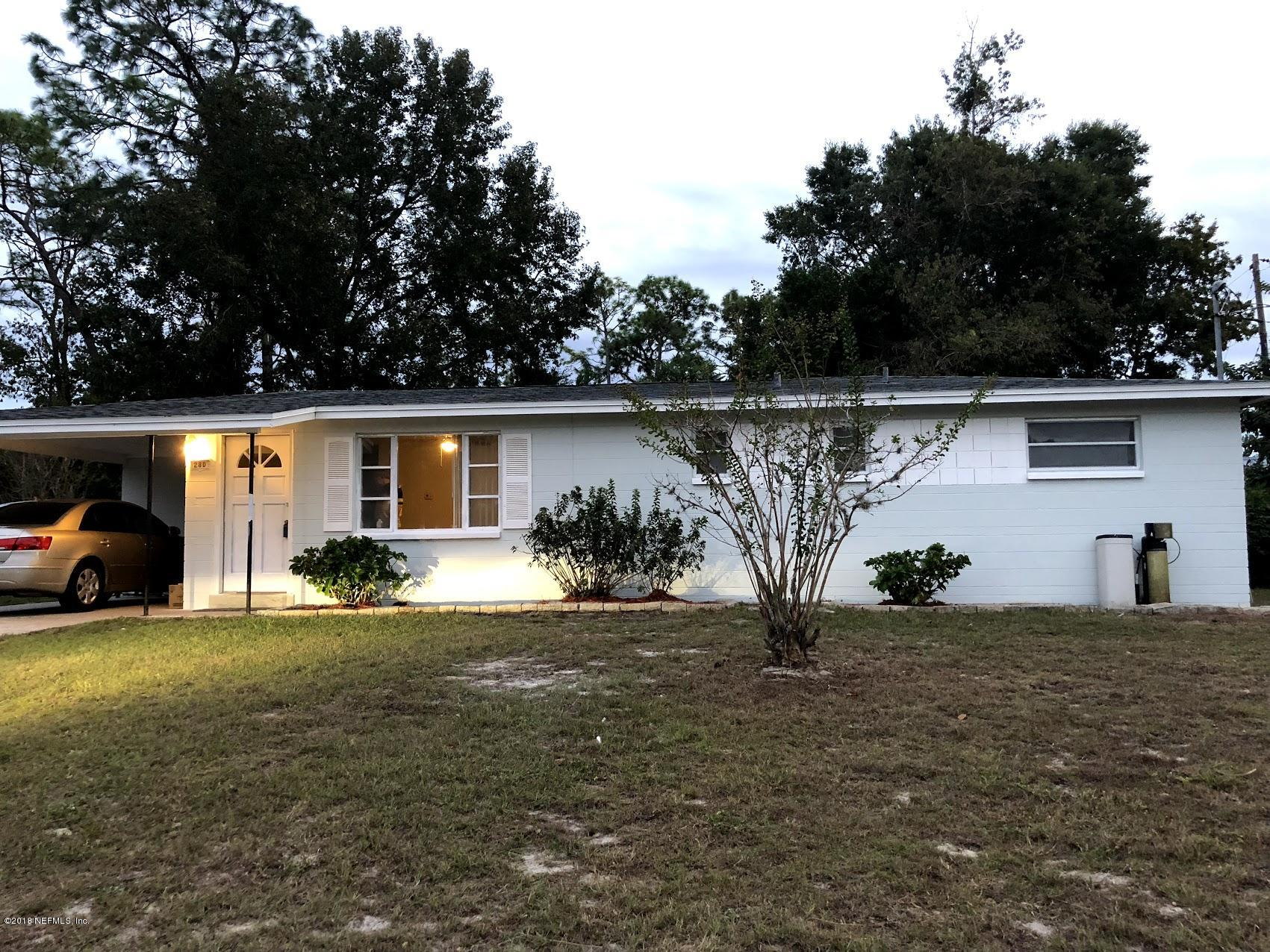 280 ARORA, ORANGE PARK, FLORIDA 32073, 3 Bedrooms Bedrooms, ,2 BathroomsBathrooms,Residential - single family,For sale,ARORA,965145