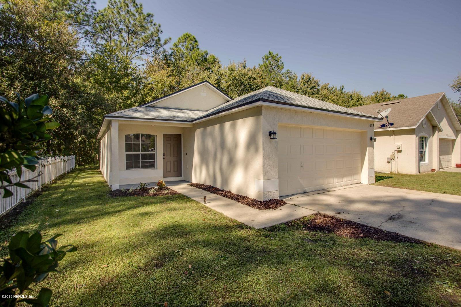 1587 SLASH PINE, ORANGE PARK, FLORIDA 32073, 3 Bedrooms Bedrooms, ,2 BathroomsBathrooms,Residential - single family,For sale,SLASH PINE,965274