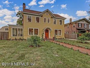 Avondale Property Photo of 3019 Herschel St, Jacksonville, Fl 32205 - MLS# 965354