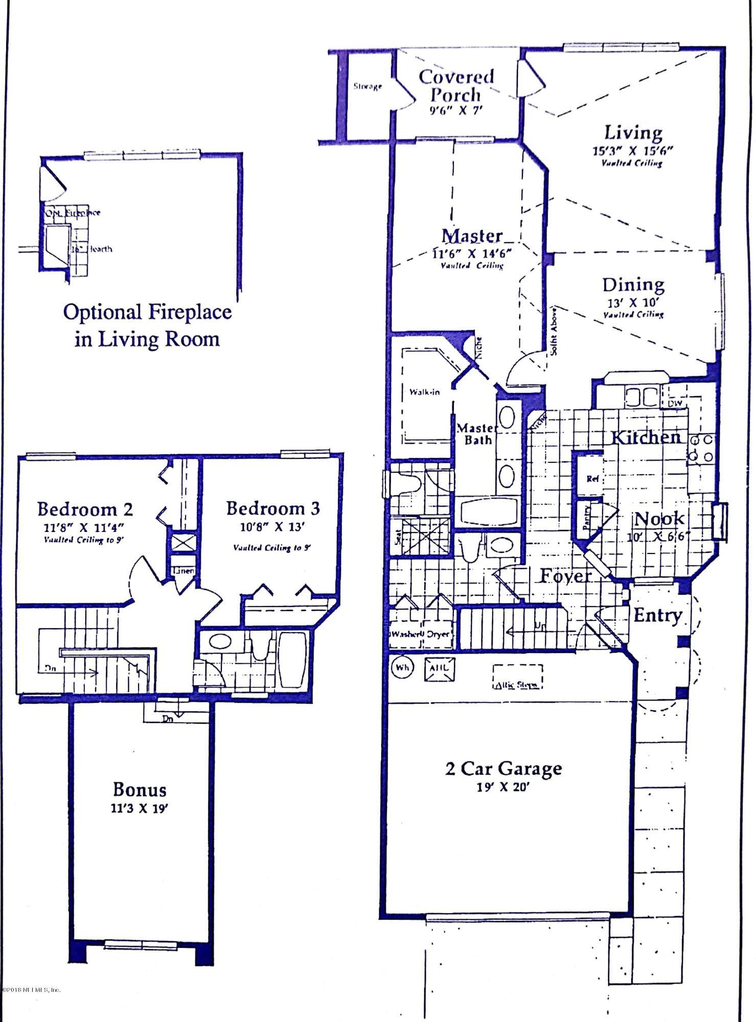 14410 PELICAN BAY, JACKSONVILLE, FLORIDA 32224, 4 Bedrooms Bedrooms, ,2 BathroomsBathrooms,Residential - single family,For sale,PELICAN BAY,965444