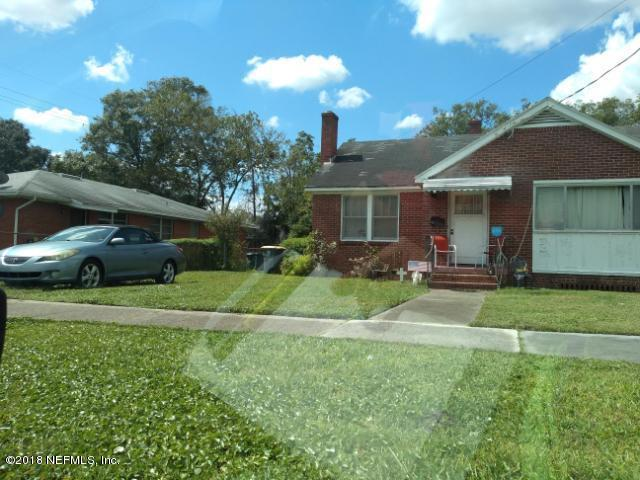 814 ST CLAIR, JACKSONVILLE, FLORIDA 32254, 3 Bedrooms Bedrooms, ,1 BathroomBathrooms,Residential - single family,For sale,ST CLAIR,965437